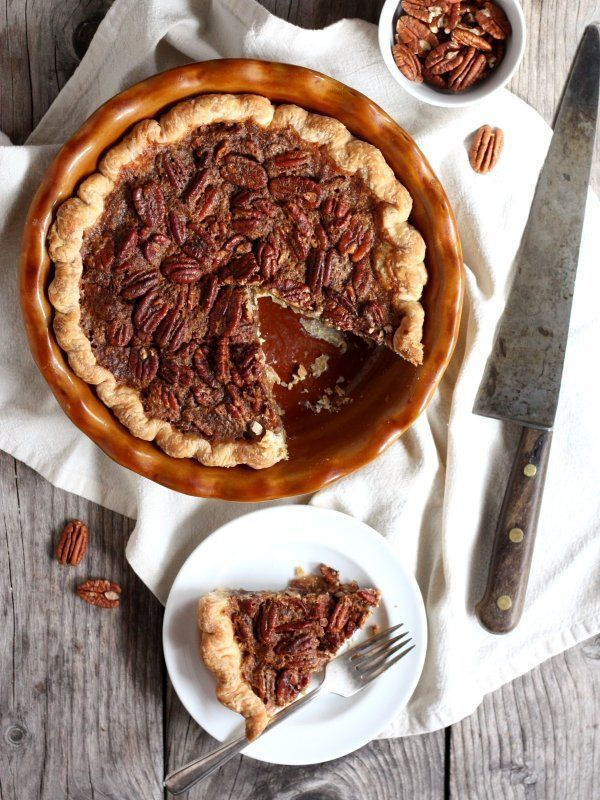 """<strong>Get the<a href=""""http://www.completelydelicious.com/2013/11/pecan-pie.html"""" target=""""_blank""""> Classic Pecan Pie recipe<"""