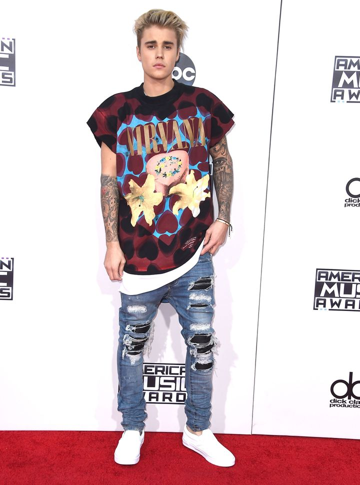 Justin Bieber Wore A Nirvana Shirt And People Got Really Pissed Off