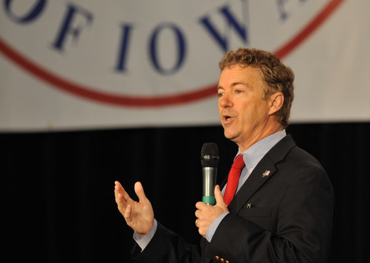 GOP presidential candidate Sen. Rand Paul (R-Ky.) is against spying on Muslim Americans.