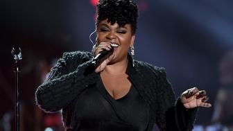 LAS VEGAS, NV - NOVEMBER 06:  Honoree Jill Scott performs onstage during the 2015 Soul Train Music Awards at the Orleans Arena on November 6, 2015 in Las Vegas, Nevada.  (Photo by Ethan Miller/BET/Getty Images for BET)
