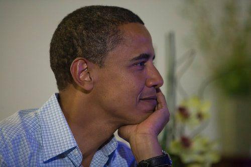 Democratic Presidential Candidate Sen. Barack Obamataken in August 2008.