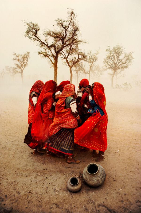 Dust storm, Rajasthan Steve McCurry; 1983