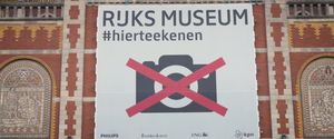 RIJKSMUSEUM BANS CAMERAS CELL PHONES STARTDRAWING