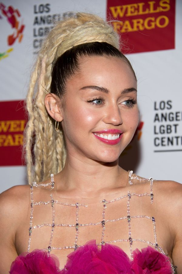 "Cyrus was named <a href=""http://www.peta.org/features/sexiest-vegetarian-celebrity-2015-miley-cyrus/"">PETA's Sexiest Vegetari"