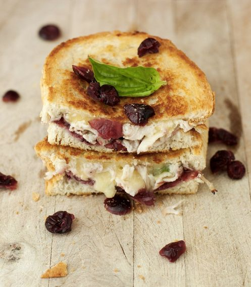 "<strong>Get the <a href=""http://bsinthekitchen.com/the-turkey-dinner-grilled-cheese/"" target=""_blank"">""The Turkey Dinner"" Gri"
