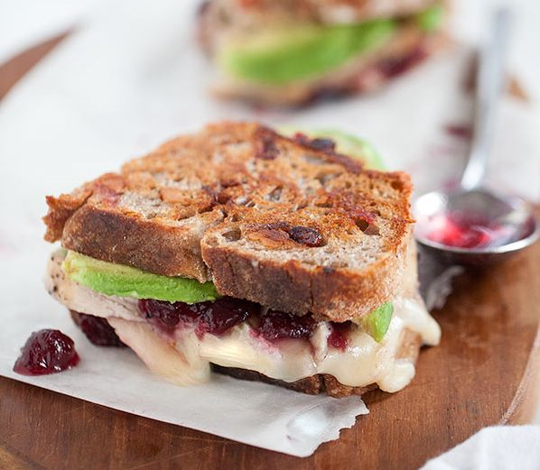 """<strong>Get the <a href=""""http://www.foodiecrush.com/2012/11/turkey-cranberry-brie-grilled-cheese-sandwich/"""" target=""""_blank"""">G"""