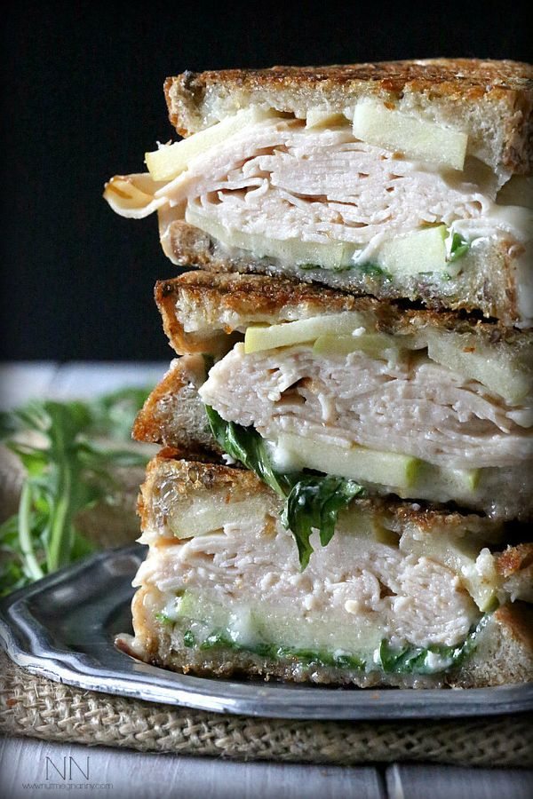 """<strong>Get the <a href=""""http://www.nutmegnanny.com/2014/09/26/turkey-apple-brie-panini-honey-mustard-maple-mayo/"""" target=""""_b"""