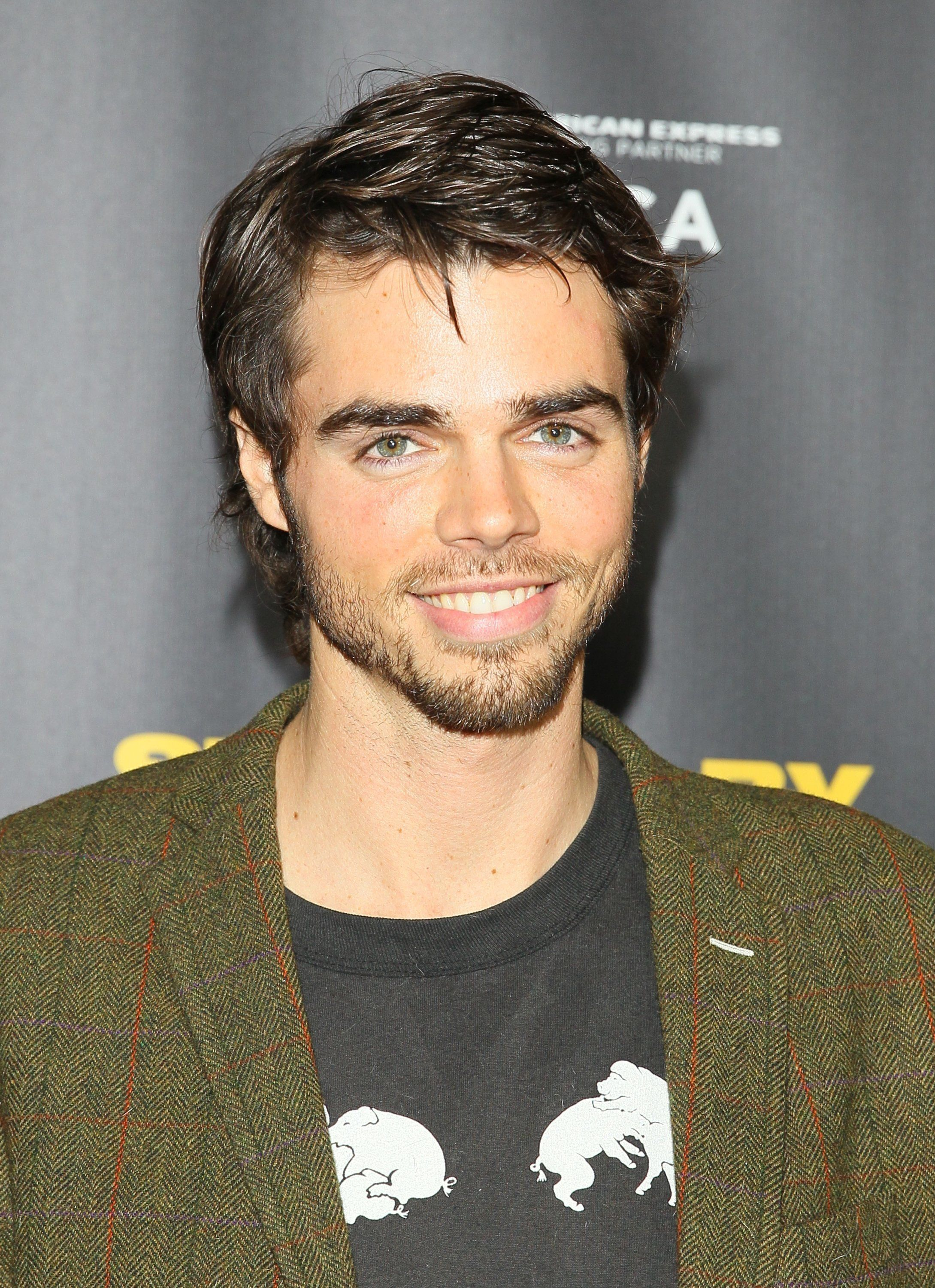 LOS ANGELES, CA - JANUARY 06: Reid Ewing attends the 'Struck By Lighting' premiere held at Mann Chinese 6 on January 6, 2013 in Los Angeles, California. (Photo by JB Lacroix/WireImage)