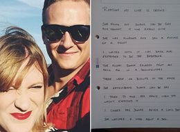 For 1 Month, This Guy Wrote Down Everything That Made His Wife Cry