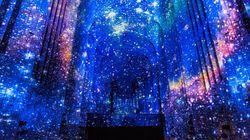 Qué pasa cuando proyectas imágenes en una de las capillas más hermosas del