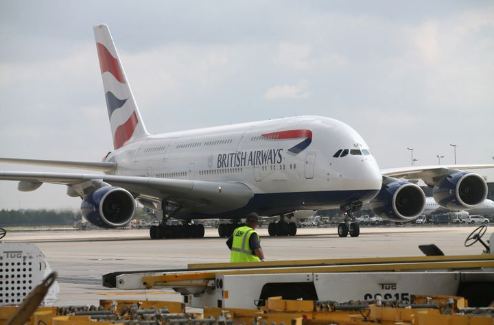 The British Airline Pilots' Association revealed Tuesday that a British Airways pilot suffered a laser strike earlier this ye