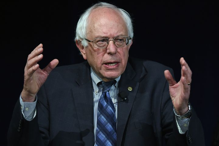 Democratic presidential candidate Sen. Bernie Sanders (I-Vt.) has spoken disapprovingly of super PACs but says he won't ask o