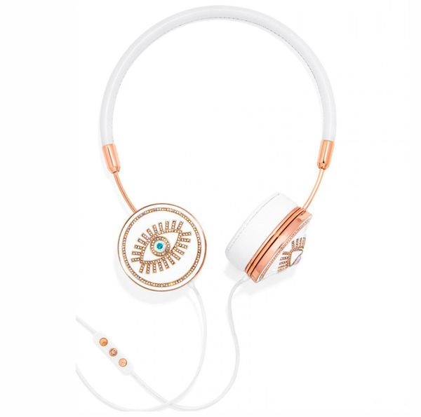 "These look great already, but you can also switch out the decorative headphone caps for <a href=""http://www.wearefrends.com/c"