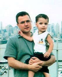 Zuhtu Ibis and his son, Mert. Ibis was killed in the 9/11 attacks.