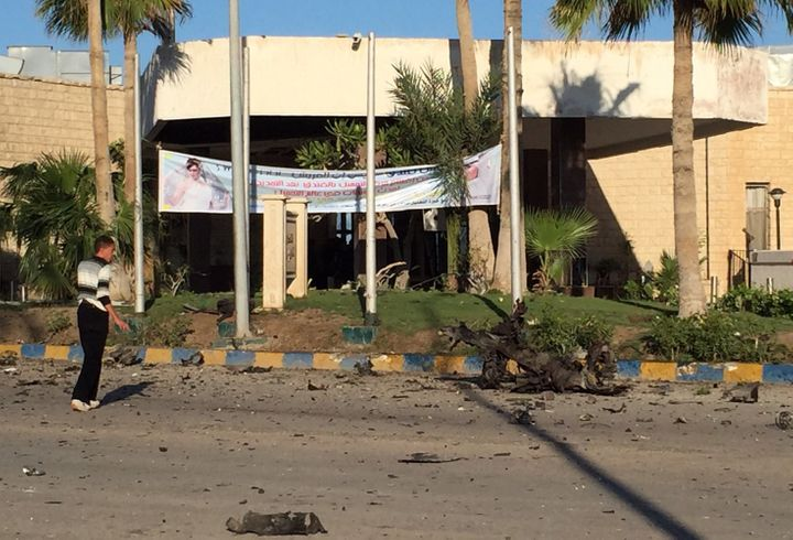 The self-described Islamic State's Egyptian branch claimed responsibility for a deadly bombing in a hotel in North Sinai, Egy