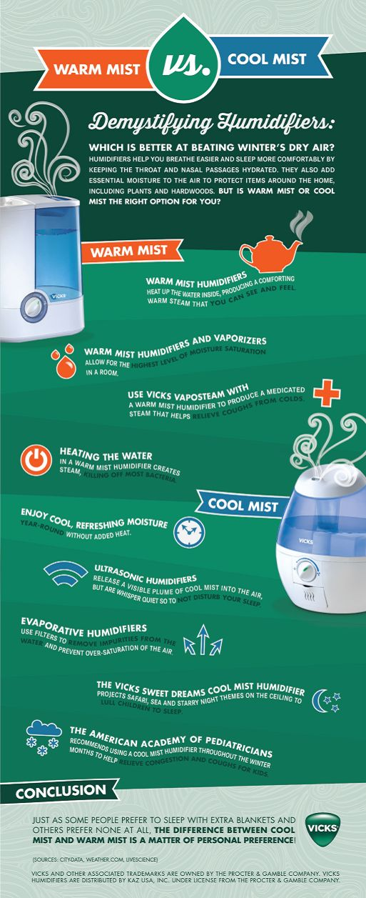Cool Mist Vs Warm Mist Humidifier for Babies: Which Ones Are