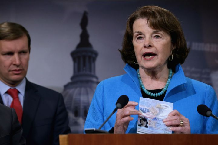"""Sen. Dianne Feinstein called the visa waiver program """"the soft underbelly of our national security policies."""""""