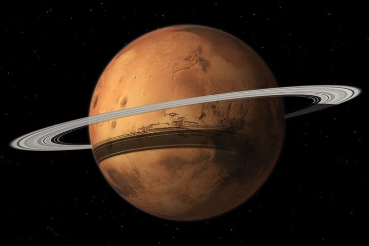 Mars could gain a ring in some20 million years when its moon Phobos is torn to shreds.
