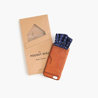 If a stylish pocket square and a fancy leather iPhone case had a baby then this would be their awesome offspring. Basically,