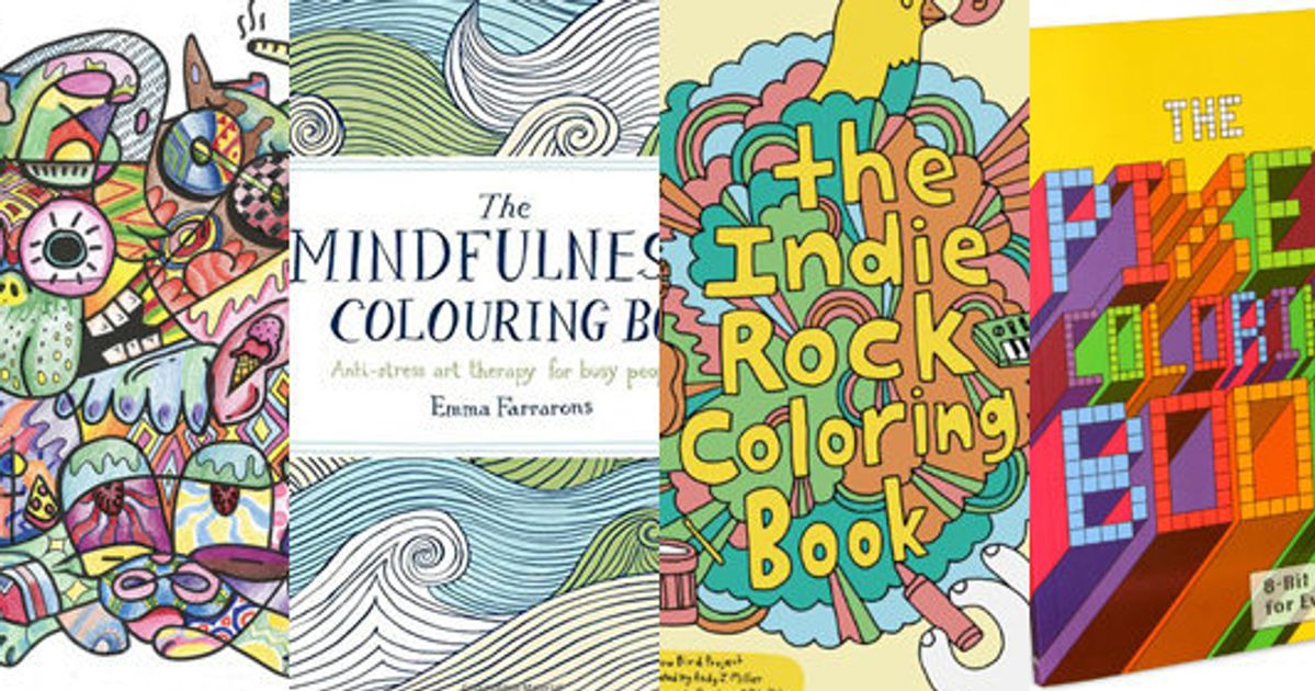 Adult Coloring Books For The Stressed Family Member In