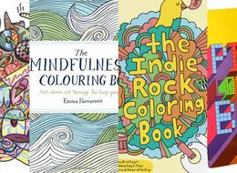 13 Coloring Books For The Stressed Family Member In Your Life