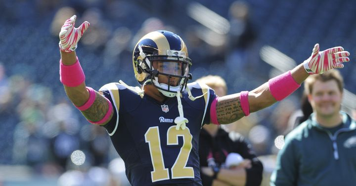 St. Louis Rams wide receiver Stedman Bailey was in critical condition after being shot in Florida on Nov. 24, 2015.