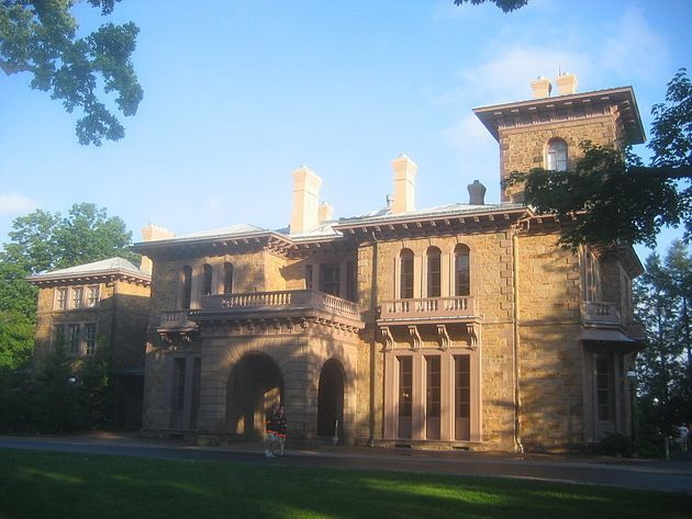 "<span class='image-component__caption' itemprop=""caption"">Prospect House is where Woodrow Wilson lived while president of Princeton University. Wilson was elected president of the United States in 1912.</span>"