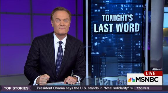 A screen shot of MSNBC host Lawrence O'Donnell on Nov. 24, 2015.