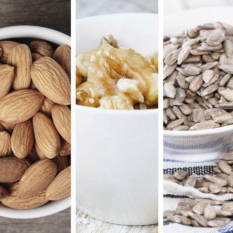 High in – Protein, vitamin E, fatty acids