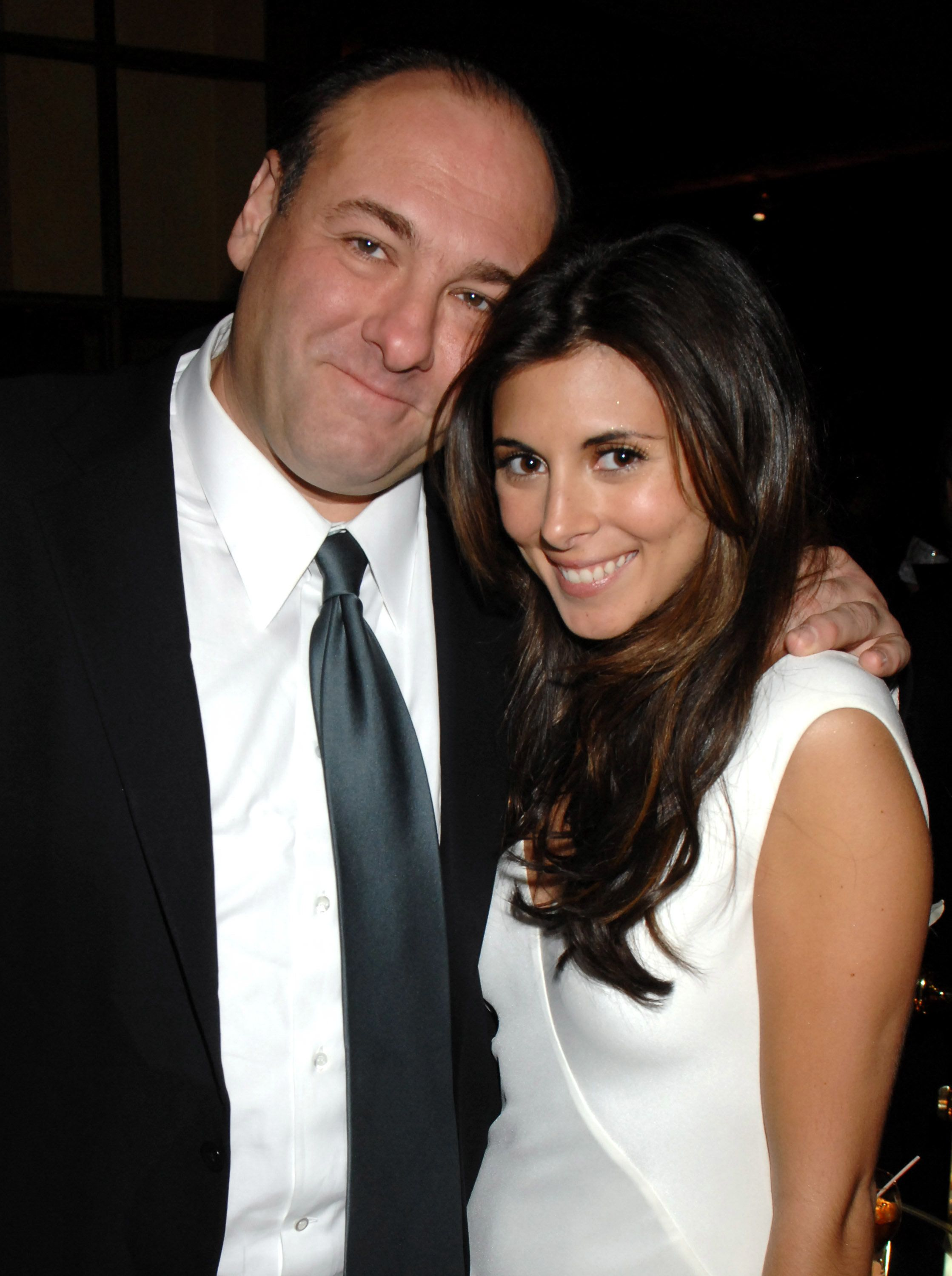 (EXCLUSIVE, Premium Rates Apply) James Gandolfini and Jamie-Lynn Sigler  *EXCLUSIVE* (Photo by Jeff Kravitz/FilmMagic)