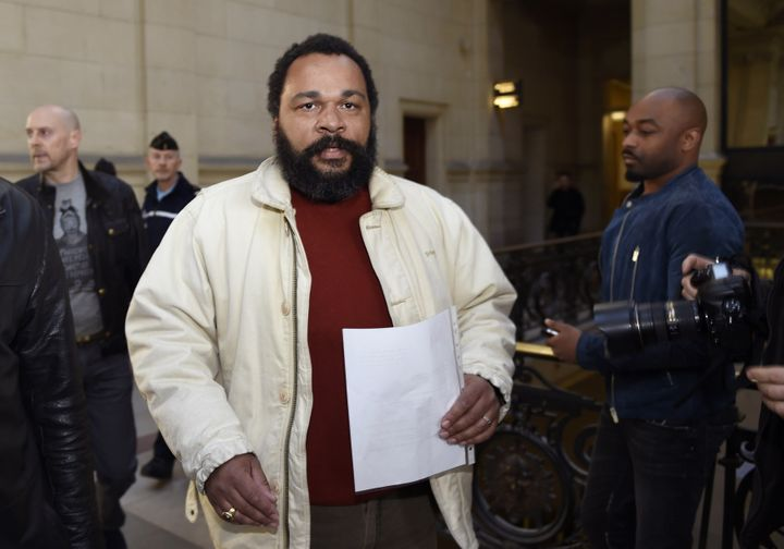 Belgium sentenced French comedian Dieudonne M'bala M'bala to two months in prison and a $9,534 fine for making anti-Semitic j