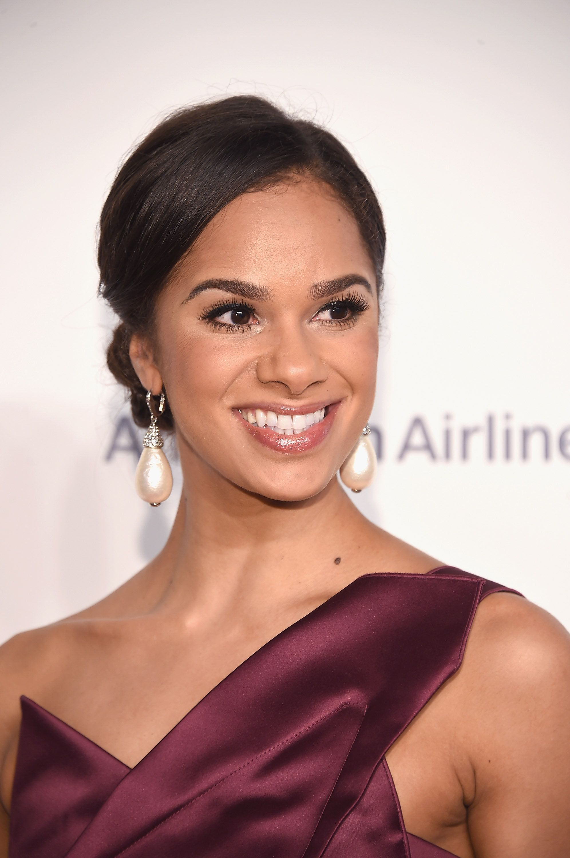 NEW YORK, NY - OCTOBER 21:  American Ballet Theatre principal dancer Misty Copeland attends the American Ballet 75th Anniversary Fall Gala at David H. Koch Theater at Lincoln Center on October 21, 2015 in New York City.  (Photo by Gary Gershoff/WireImage)