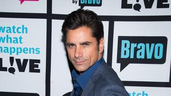 WATCH WHAT HAPPENS LIVE -- Pictured: John Stamos -- (Photo by: Charles Sykes/Bravo/NBCU Photo Bank via Getty Images)