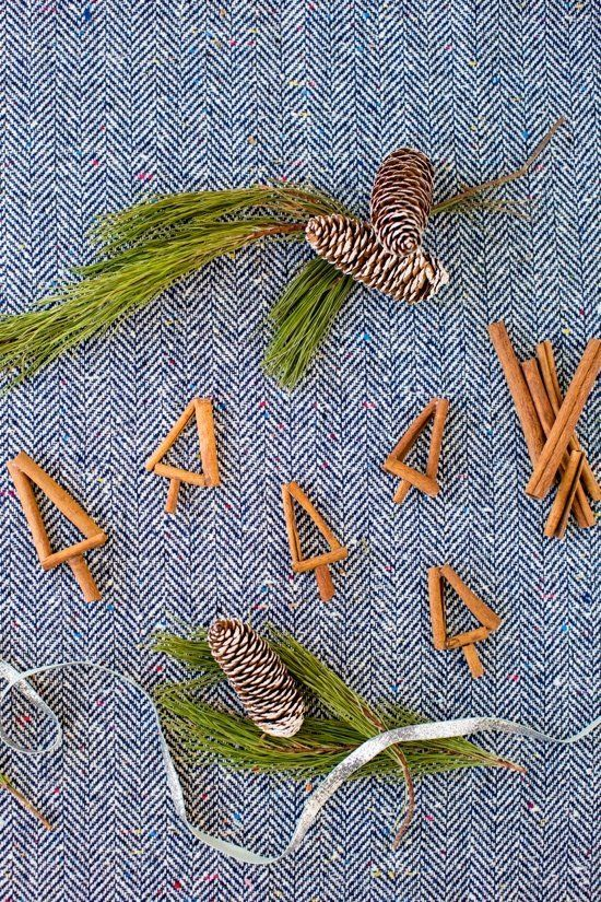 These cinnamon stick trees can be used for just about anything -- cake toppers, gift wrapping embellishments, ornaments and e