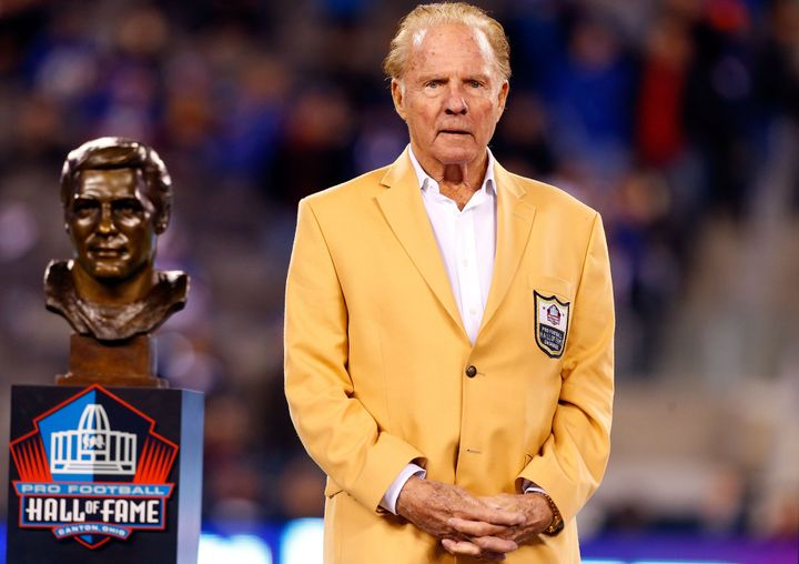 Hall of Famer Frank Gifford had CTE, a degenerative brain disease that is caused by repeated trauma to the head.