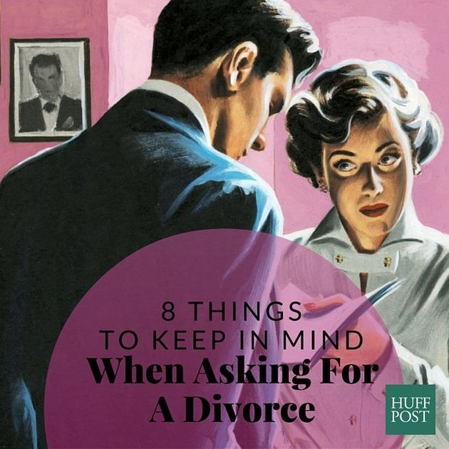 how to ask spouse for divorce