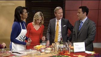 Harris Faulkner reacts to Brian Kilmeade's question on if she make Kool-Aid.