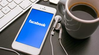 HILVERSUM, NETHERLANDS - JANUARY 06, 2014: Facebook is an online social networking service founded in February 2004 by Mark Zuckerberg with his college roommates and is now a fortune 500 company.