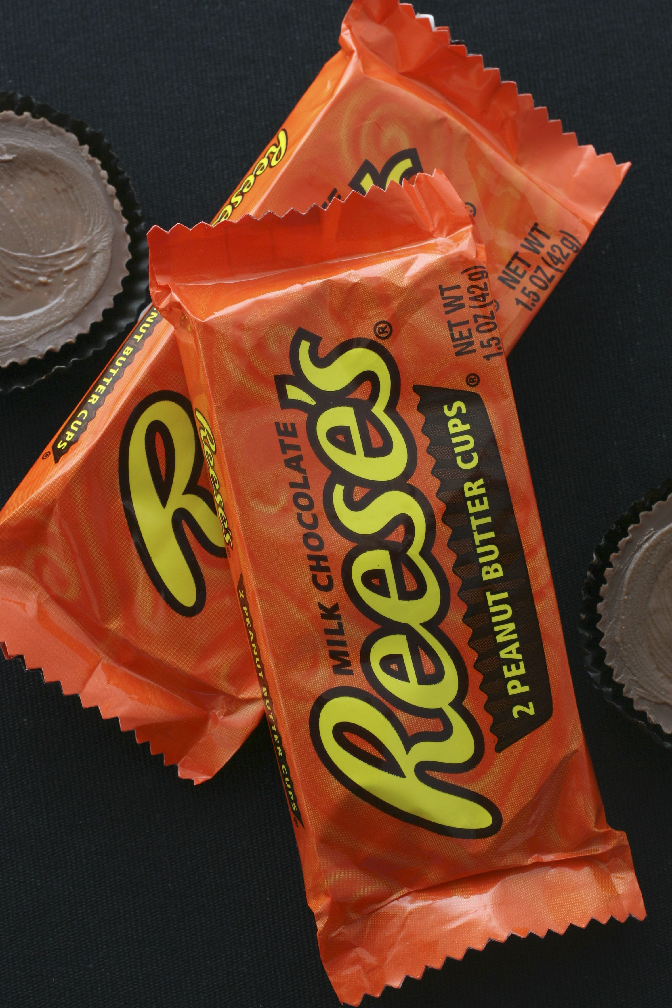 SOURCE Washington Post Studio DATE: October 17, 2007 PHOTO: Julia Ewan/TWP  For favorite Halloween candy chart - Reese's Peanut Butter Cups.  (Photo by Julia Ewan/The Washington Post/Getty Images)