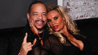 NEW YORK, NY - DECEMBER 12:  Rapper Ice-T and Coco Austin attend the Z100 Jingle Ball 2014 after party presented by GTA and Pierre Toma at Space Ibiza on December 12, 2014 in New York City.  (Photo by Ilya S. Savenok/Getty Images for iHeartMedia)