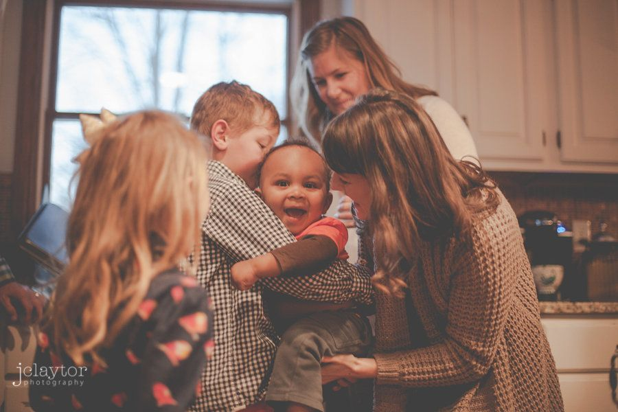"""<i>Lindsay and Scot adopted their sonZeke in 2014. Photo by <a href=""""http://blog.jclaytorphotography.com/2014/02/19/zek"""