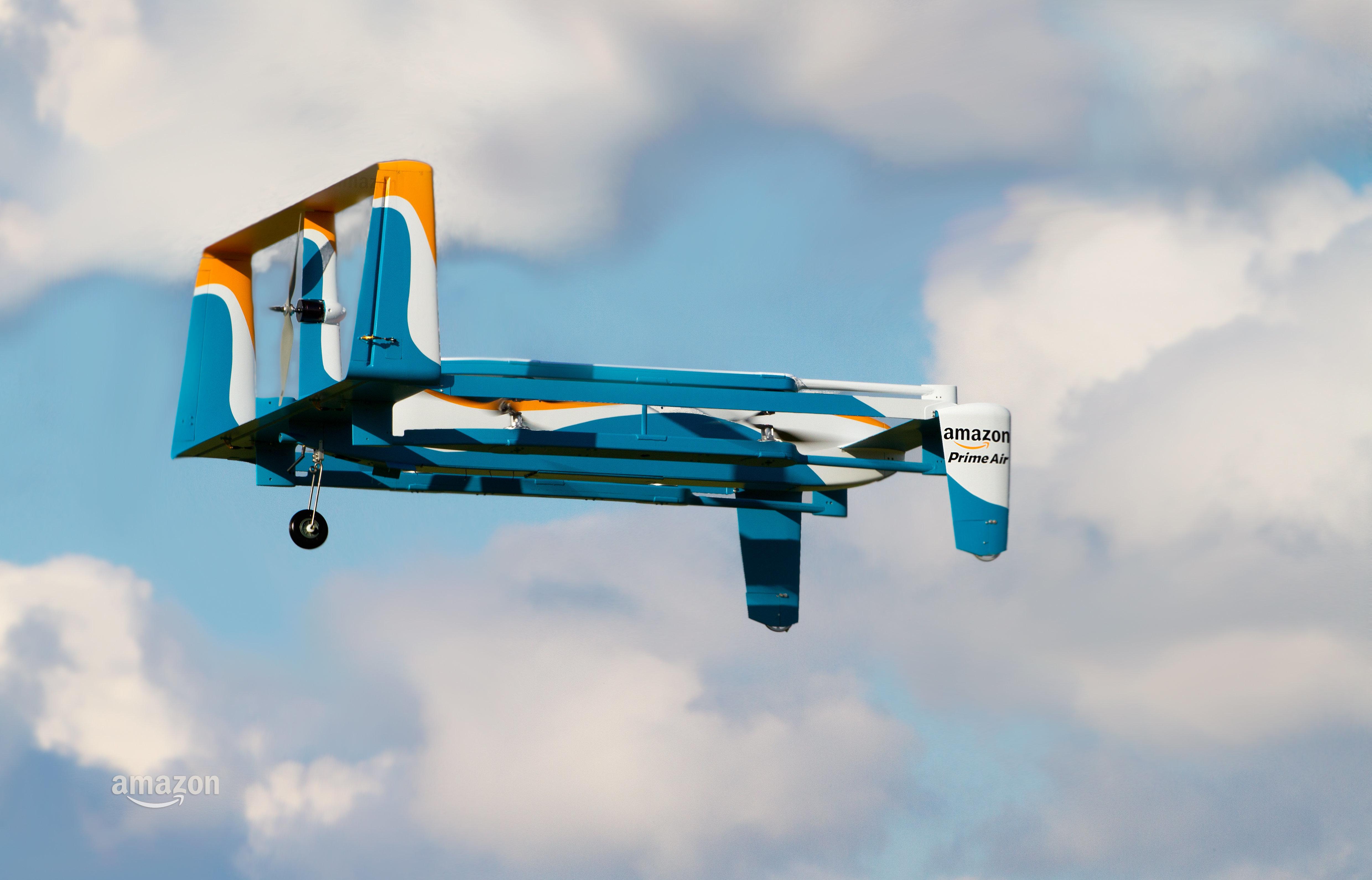 Amazon's Prime Air delivery drone