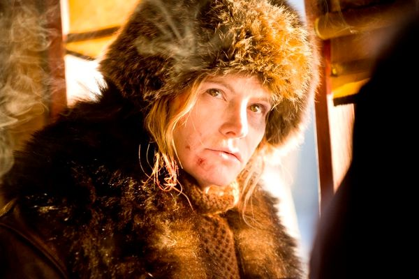 """Asone of only a few women in Quentin Tarantino's male-dominated """"Hateful Eight,"""" Jennifer Jason Leigh won't have a hard"""