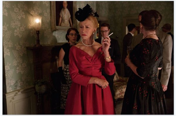 """Helen Mirren's """"Trumbo"""" performance boasts a lot of thingsOscar voters appreciate: decadent costumes, a period-piece ac"""