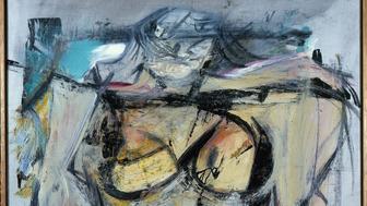 Willem de Kooning's <em>Woman — Ochre </em>(oil on canvas, 1954-55) has been missing for 30 year