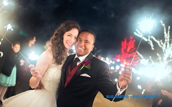 """Mr. and Mrs. Alicia and Danny Salinas were wed at the Toledo Zoo in Toledo, Ohio!"" - Christin Berry"