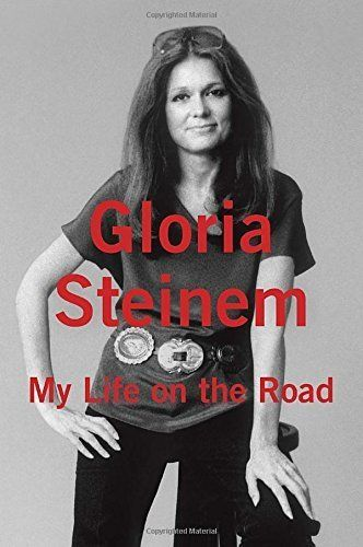 """<i>Buy it <a href=""""http://www.amazon.com/My-Life-Road-Gloria-Steinem/dp/0679456201?tag=thehuffingtop-20"""">here</a>.</i>"""