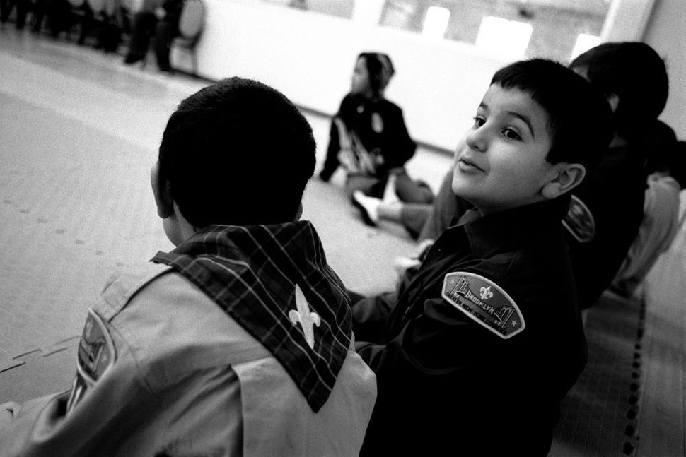 Boy Scouts at their Weekly Meeting, MuslimAmerican Society, Brooklyn, NY 2010