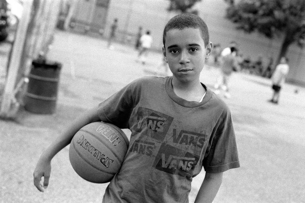 Basketball Player in the Park, Brooklyn, NY 2011
