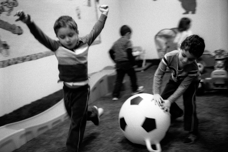 Children Playing During Recess, Blossom School,Orland Park, IL 2012